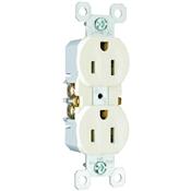 Almond 15 Amp 125 Volt Duplex Receptacle 10 Pack