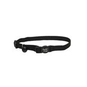 "Safecat 12"" Adjustable Cat Collar, Black"