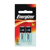 Energizer E90 Specialty Alkaline Battery, 1.5 V, N, Zinc Manganese Dioxide