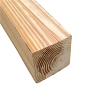 "4x4-8' (Actual: 3-1/2""x3-1/2"") #2 Ground Contact Treated Pine"