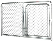 6 x 4' Economy Chain Link Kennel Panel with Gate