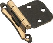 Amerock BPR3429AE Cabinet Hinge, Steel, Antique Brass