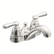 2 Handle Low-Arc Lavatory Faucet, Chrome