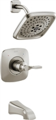 Sawyer Tub & Shower Faucet, Brushed Nickel