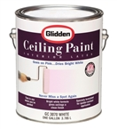 EZ Track Ceiling Paint Flat White, 1 Gallon