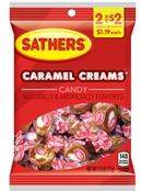 Carmel Creams Candy 2.5 oz