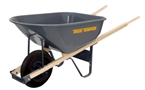 6 Cu-Ft Steel Wheelbarrow
