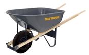 6 Cu-Ft Steel Wheelbarrow