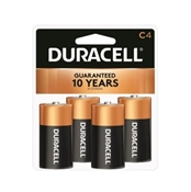 Duracell Alkaline Battery, C, Manganese Dioxide, 1.5 V