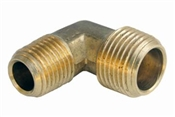 "3/8"" Male Iron Pipe x 1/4"" Male Pipe Thread Elbow"