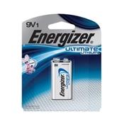 Energizer Advanced Lithium Battery, 9 V, Manganese Dioxide