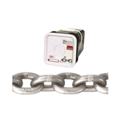 Campbell 0184516 High-Test Chain, 3900 lb Working Load Limit, 5/16 in, Carbon Steel, Bright