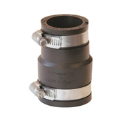 """Rubber Pipe Coupling, 1 1/2"""" x 1 1/4"""""""
