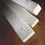 1x3-8' (Actual: 1.468 in. x 1.648 in.) Hiline Whitewood Furring Strip