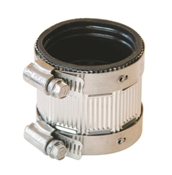 """No -Hub Coupling, Stainless Steel, 1 1/2"""""""