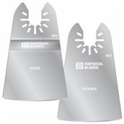 Inperial Blade One Fit Scraper Variety Pack, 2PC (1 Ridgid & 1 Flex)