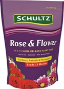 Schultz Spf48410 Slow-Release Rose And Flower Fertilizer, 3.5 Lb, Granules