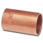 "1/2"" Copper Coupling Without Stop"