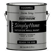 Simply Home Storm Gray Interior Wall Paint