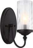 Lexington 1 Light Wall Sconce, Oil Rubbed Bronze