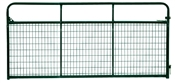 14' Tuf-Mac Wire Filled Tube Gate - Green