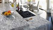 6' Laminate Countertop, White Ice Granite, Ora Edge 9476-43