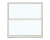 2830 300 Clear 1/1 Aluminum Single Hung Window, White