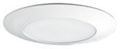 """6"""" Shower Light Lens Trim With Frosted Glass Lens"""