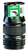 """2"""" x 3"""" Black Downspout Adapter"""