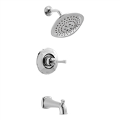 Arabella Tub & Shower Faucet, Chrome