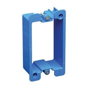 Plastic Electrical Box Extender For Single Or Double Gang Boxes