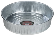 Galvanized Hog Pan - 3-1/2 Gallon
