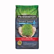 Pennington Seed 100086840 Smart Seed Grass Seed, Sun/Shade, 20 Lb