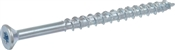 Power Pro ONE Multi-Material Screw Interior Flat Head Zinc-Plated #8 x 2-1/2""