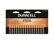 Duracell Alkaline Battery, AAA, Manganese Dioxide, 1.5 V