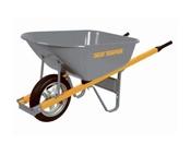 6 Cu-Ft True Temper Wheelbarrow With Steel Handles
