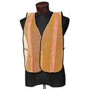 Safety Vest - ESK High Visibility - Orange with Lime Prismatic Tape