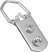 Hillman Large Zinc D-Ring Hangers