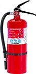 Fire Extinguisher, Red, 5 lb Capacity, 3-A:40-B:C Fire Class