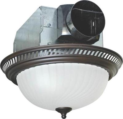 Shop 70 Cfm Fan Light Combo Bronze At Mccoy S