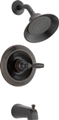 Single Handle Tub & Shower Faucet, Oil Rubbed Bronze