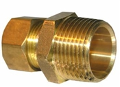 "5/8"" Compression x 3/4"" Male Pipe Thread Adapter"