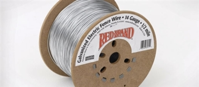 Electric Fence Wire 14 Gauge 1/2 Mile - Galvanized Steel