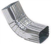 "2"" x 3"" Galvanized Front ""A"" Elbow"