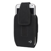 Fits All™ XL Vertical Phone Case, Black