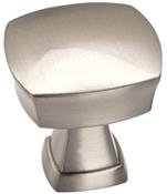 1-1/4 in (32 mm) Length Knob - Satin Nickel