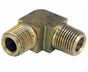 "1/8"" Male Iron Pipe x 1/8"" Male Pipe Thread Elbow"