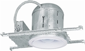 "6"" IC New Construction Recess Light Kit"