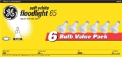 65 Watt R30 Indoor Floodlight Soft White 6 Pack
