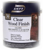 Clear Wood Finish Gloss 1 Gallon